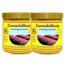 2x 500g 13,79EUR/kg Lavendelhonig Lavendel Honig