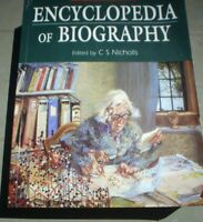BOOK ENCYCLOPEDIA OF BIOGRAPHY HUTCHINSON ILLUSTRATED 400