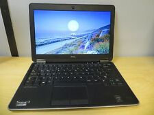 Dell Latitude Ultrabook E7240 Core i7-4600u 2.7GHz 8GB 256GB SSD Win 10 inc VAT
