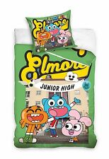AMAZING WORLD of GUMBALL Darwin Anais Single Bed Duvet Cover Set 100% COTTON 02