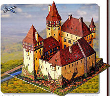 Burg Bärenfels 1:200 Bastelbogen toll für Kinder neue Bauanleitung Schreiber