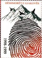 Kosovo Stamps 2018. Martyrs of Gjakova. Dove. Birds. Vignette MNH