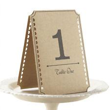 Ginger Ray Zahlen 1-12 Tisch Hochzeit Tischnummern Vintage