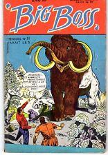 BIG BOSS NUMERO 51 EDITIONS ARTIMA 1960 RARE TBE