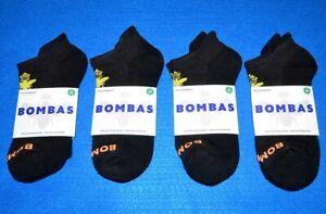 Lot of 4 Pair - New - Bombas Ankle Socks - Women's Medium 7-10 - Black - 4 Pack