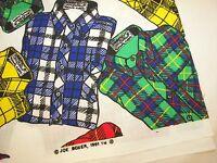 "1991 Joe Boxer Cotton Fabric - 1  8/9 Yard x 45"" Wide"
