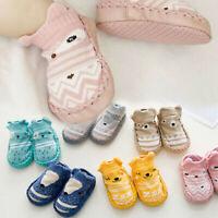 Newborn Baby Kids Toddler Anti-Slip Socks Cartoon Slipper Floor Socks Boots Hot