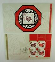 2002 Canada FDC #1933 YEAR OF THE HORSE  #1934 LUNAR NEW YEAR