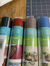 Cricut Vinyl Roll lot of 4 new sealed rolls assortment