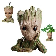 Baby Groot Flower Pot Toy Guardians of The Galaxy Vol.2  Pen Holder Home Decor
