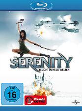 Blu-ray * SERENITY - FLUCHT IN NEUE WELTEN # NEU OVP