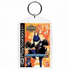 Playstation one 1 PS1 DIGIMON 2 Video Game Classic Box Cover Keychain