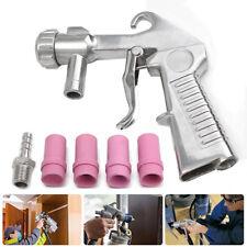 Pistolet de Sablage Pneumatique Sableuse Sable Décapage +4x Céramique Buse 4-7mm