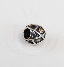 Genuine Pandora two tone Charm - Diamond Harlequin - 790164D - retired