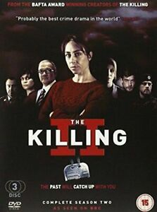 The Killing DVD Complete Season 2 - Series Two Second (3 DISC SET)