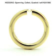 "750 GG ""NIESSING"" Spannring, Collect Quadrat/soft, Brillant 0,14ct., N241980"