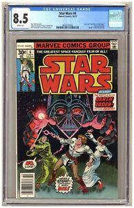 Star Wars #4 (CGC 8.5) Battle with Darth Vader Death of Obi-Wan Newsstand C796