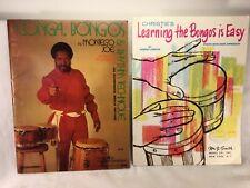 Vintage Learning the Bongos/Montego Joe's Conga Bongos & Rhythm Technique Set 2
