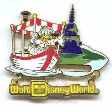 Disney Pin: WDW Retro Walt Disney World Collection Jungle Cruise with Donald