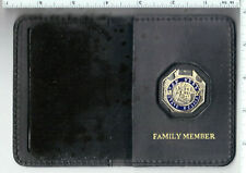 New York State Police Trooper's Family Member Book Wallet with mini pin