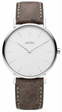 Danish Design Womens Tidlos Aero Medium Watch - Taupe/Silver