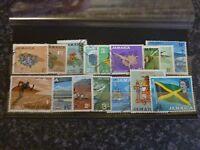 JAMAICA POSTAGE STAMPS SG217-232 FINE USED