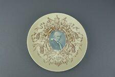 Assiette PAPE LÉON XIII en céramique de SARREGUEMINES bon état pope Léone XIII.