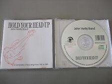 John Verity Band - Hold Your Head Up (CD) 12 Tracks - Nr Mint - Fast Postage