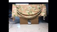 """Custom Made New Empire Swag Valance With Tassel Bottom / Fits Windows Up To 39"""""""