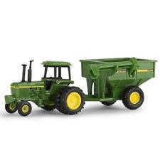 John Deere 4430 Tractor  WF  6 Wheeler  & a 500 Grain Cart 1:64 Ertl New Sale!