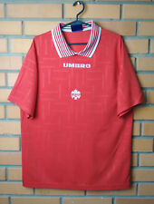 Rare Vintage Canada Football Shirts  90-S Size L soccer jersey Umbro