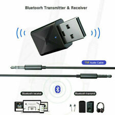 Bluetooth 5.0 Transmitter & Receiver A2DP Audio 3,5mm-Klinkenstecker-Aux-Ad B6C4