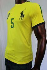 Polo Ralph Lauren Brazil Performance Soccer Shirt~Big Pony~Nwt~