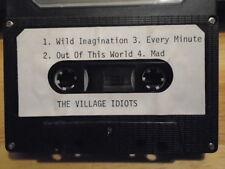 RARE PROMO The Village Idiots DEMO CASSETTE TAPE rock 4 UNRELEASED female '90s !