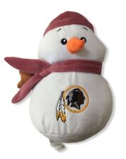 Washington Redskins NFL American Football Christmas Snowman Plush Toy