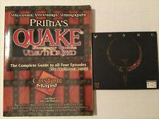 Quake PC Game and Prima Stategy Guide