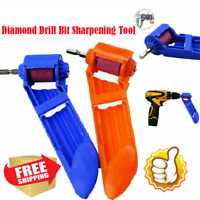 Corundum Grinding Wheel Drill Bit Sharpener Titanium Portable Powered Tools HS