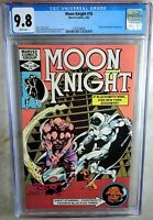 Moon Knight #16 Thing Apprnc Marvel 1982 CGC 9.8 NM/MT White Pages Comic N0015