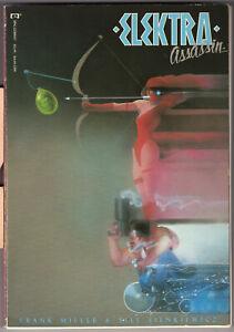 Elektra Assassin tpb, first edition, Frank Miller, Bill Sienkiewicz