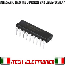 Integrato LM3914N Dot/Bar Display Driver LM3914 LM3914N-1