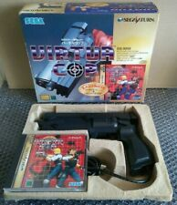 Virtua Cop + Gun Set Sega Saturn Japanese NTSC-J JPN