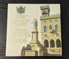 Saint Marin Coffret Officiel BU 2006 8 pièces + 5€ argent