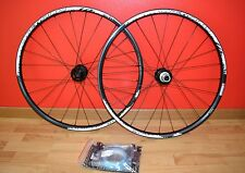 "REYNOLDS MTN Xc Mtb Disco Carbon 26"" Ruedas Carreras Negro 8-9-10s Cross Country"