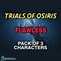 Trials Of Osiris - Pack 3 Character + Bounties | Xbox Ps4 | -ready In 24 Hours