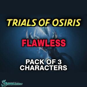 Trials Of Osiris - Pack 3 Character + Bounties | Xbox Ps4 | Pc Cross Save