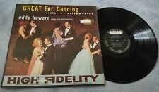 Great for Dancing / Eddy Howard - Vinyl LP Record Album - Strictly Instrumental