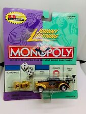 Johnny Lightning Monopoly Gold Willy Car Die-Cast Collectible w/Token