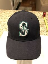 MLB Seattle Mariners Baseball Cap Adult New Era Fitted Size 7 1/4 Hat