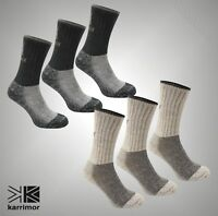 3 Pack Mens Karrimor Anatomically Shaped Heavyweight Boot Sock Size 12+