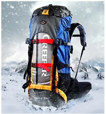 60L Large Outdoor Sports Waterproof Nylon Backpacks Camping Hiking Travel Bags